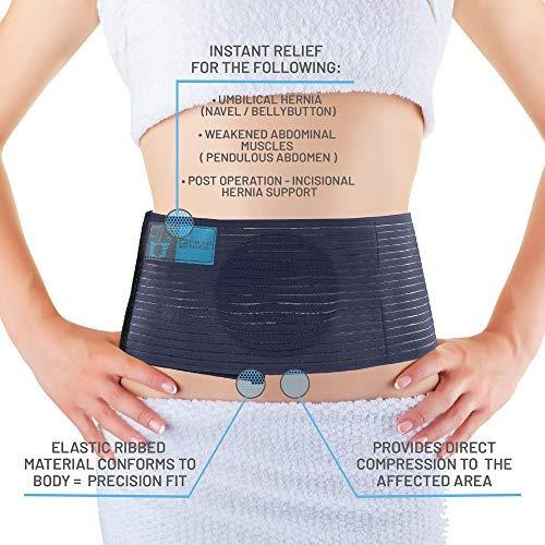 hernia umbilical soporte cinturon brace sm