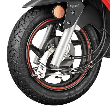 hero dash moto scooter