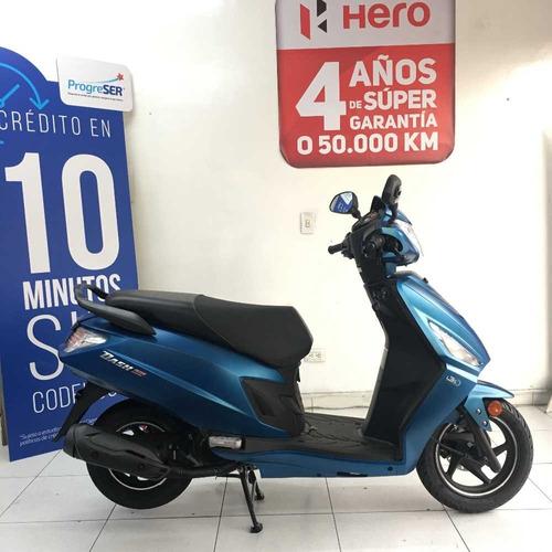 hero dash scooter 125 cc economica credito facil y rapido