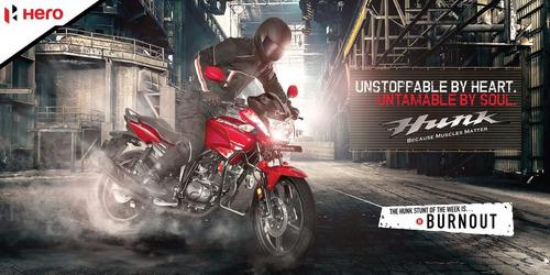 hero hunk 150 i3s novedad motolandia  contado