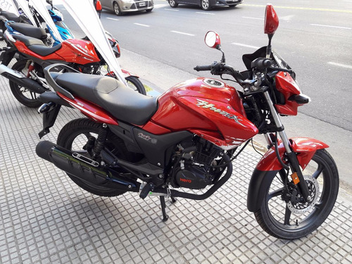 hero hunk 150 - motos calle 0 km india 3 años gria chacarita