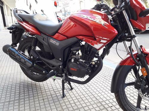 hero hunk 150 motos calle 0 km india 3 años grtia haedo