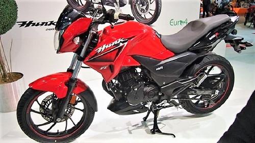 hero hunk 200 r tipo rouser modelo nuevo en oferta motovega