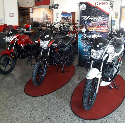 hero hunk moto motos