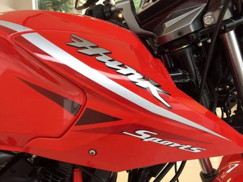 hero hunk sports 150 motos calle india 3 años gtia ezpeleta