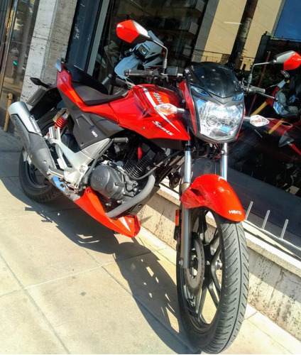 hero hunk sports 150 unica mano permuto financio dbm motos