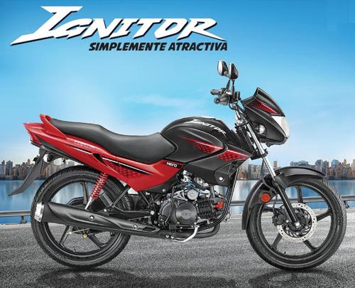 hero ignitor 125 0km 2017 nueva moto - financiala con dni