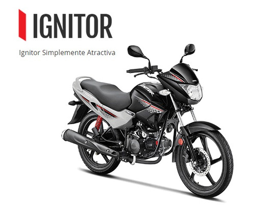 hero ignitor 125 0km 2017 nueva moto - financiala con dni