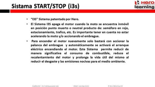 hero ignitor 125 0km 2018 sistema start stop  nuevo al 19/10