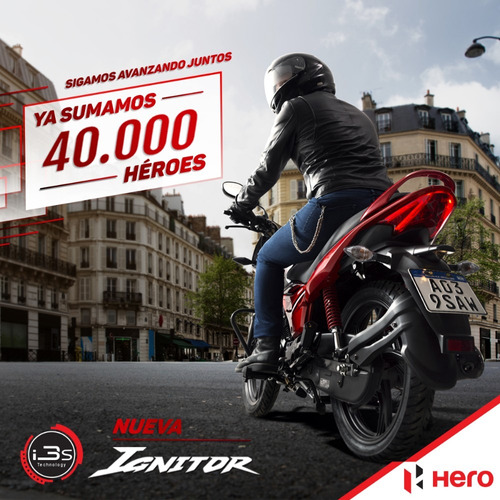 hero ignitor motos