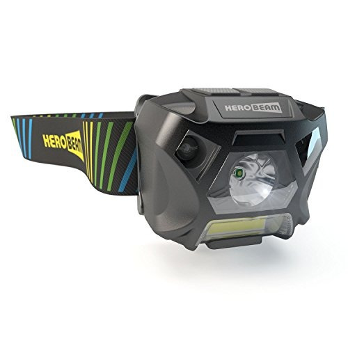 herobeam ultimate headlamp  cabeza recargable usb linterna p
