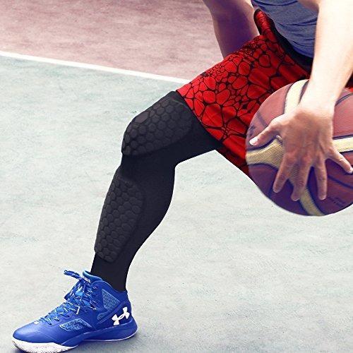herobiker rodilleras de baloncesto para adultos de futbol ro