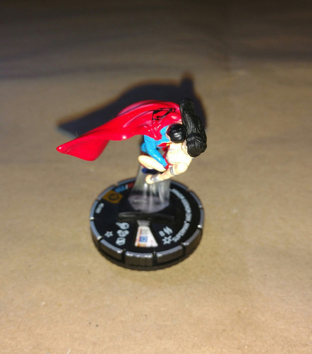 heroclix superman and wonder woman convenção