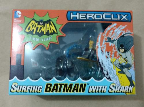 heroclix surfing batman with shark