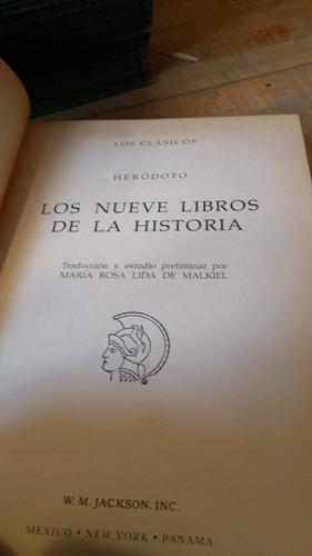 herodoto los nueve libros de la historia