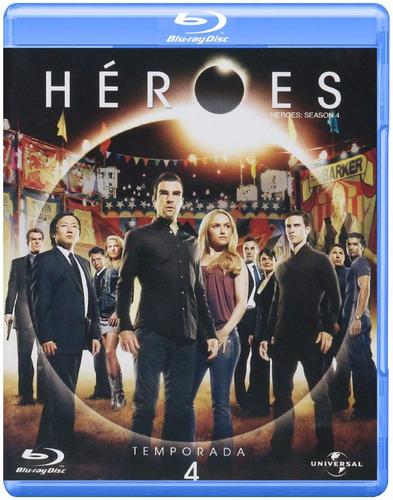 heroes cuarta temporada 4 cuatro blu-ray