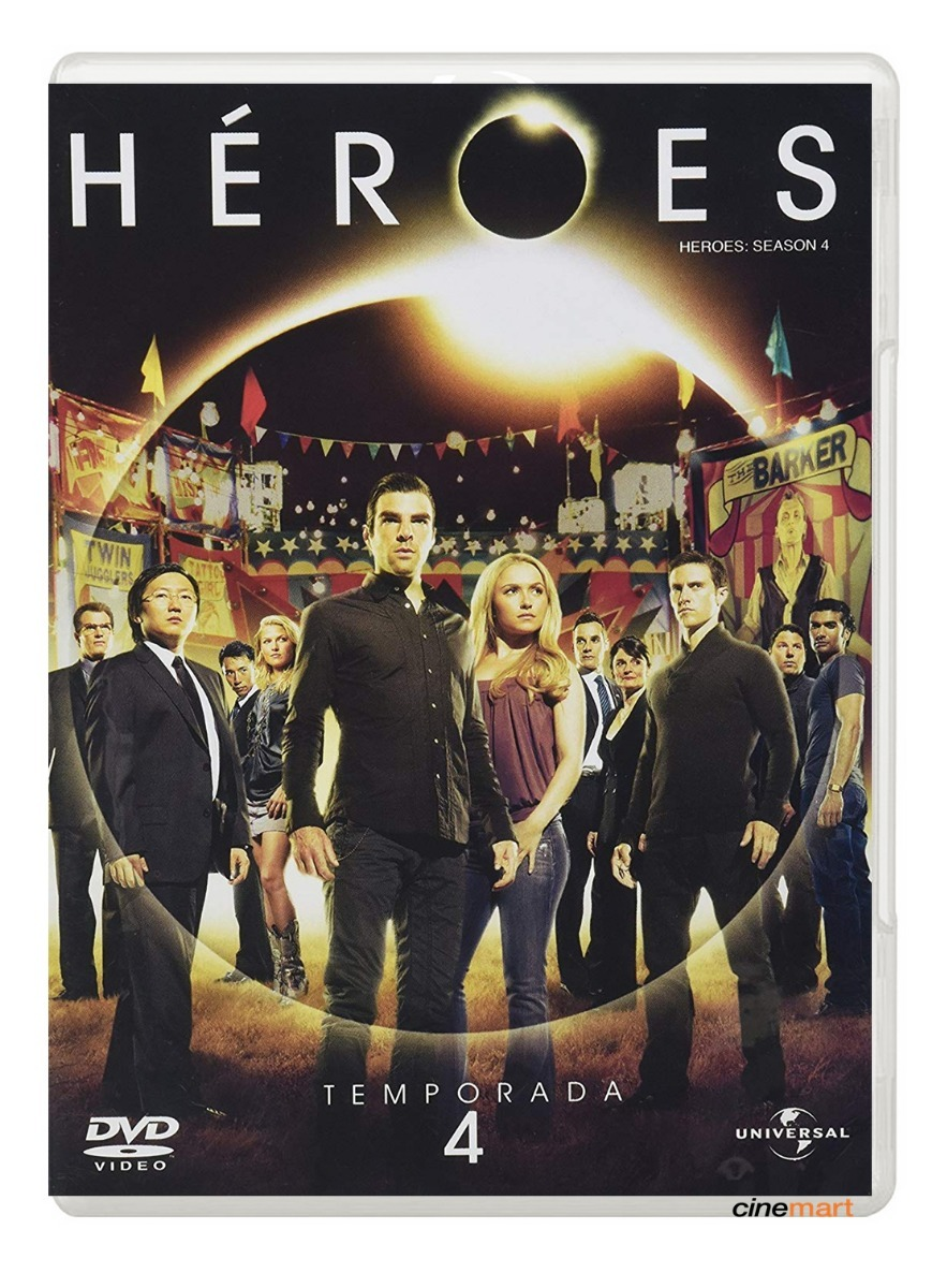 Heroes Cuarta Temporada 4 Serie Dvd