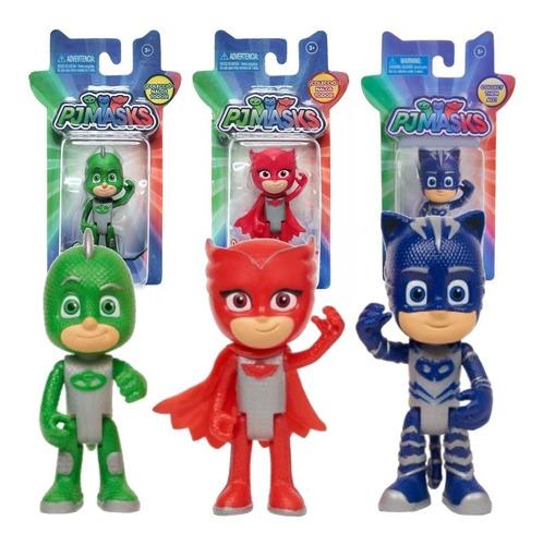 heroes en pijama figuras articuladas 8 cm varios modelos