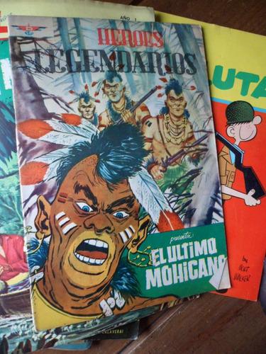 heroes legendarios el ultimo mohicano ed. dayca 1965