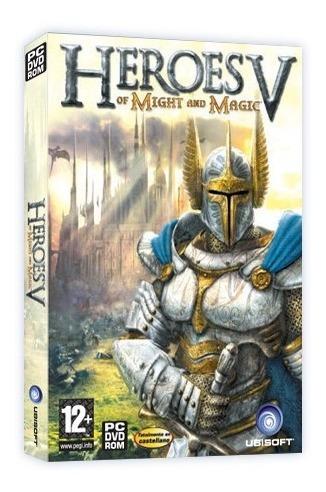 heroes of might & magic 5 juego pc original fisico dvd box