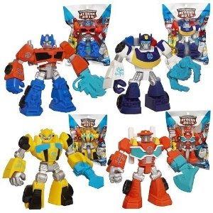Hroes Playskool Transformers Rescue Bots Figuras Juego De 4