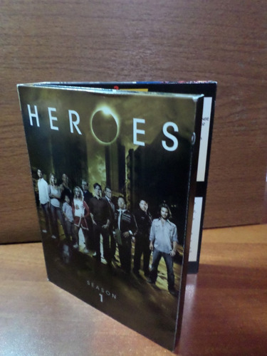 heroes (temporada 1) en dvds originales