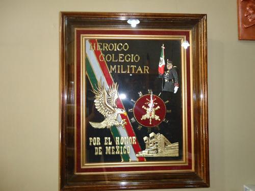 heroico colegio militar reloj de pared