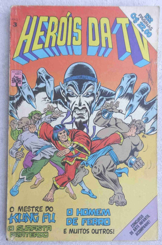 heróis da tv nº 3 - mestre kung fu - surfista prateado 1979