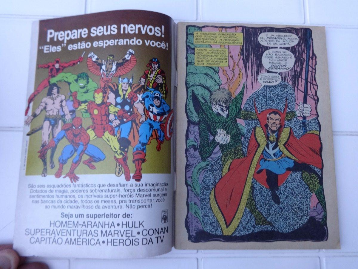 52ceab07694 Heróis Da Tv Nº 91  Vingadores Doutor Estranho Micronautas - R  29 ...
