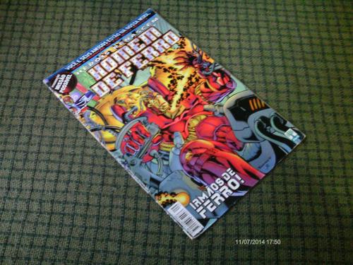 herois renascem homem de ferro n. 9 - ed. abril