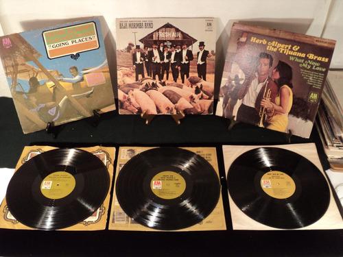 herp albert y baja marimba band 3 vinilos disco lp set jazz
