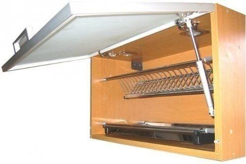 Herraje accesorios cocinas empotradas brazo amortiguador for Amortiguadores para muebles de cocina