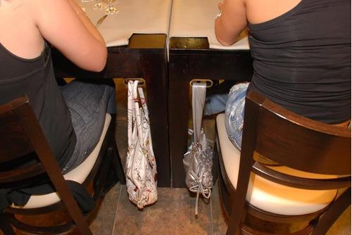 herraje de metal cartera-mochilas-bolso-bag-in hooks