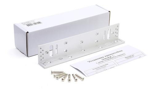 herraje l soporte cerradura electromagnetica 280 kg puerta