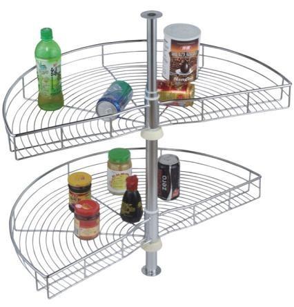 Herraje mueble esquinero acero inox media luna envio gratis bs 10 50 en mercado libre - Mueble cocina esquinero ...