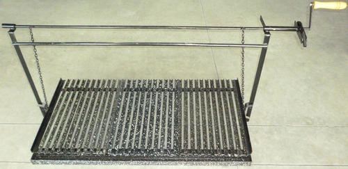herraje para amurar hierro angulo enlozado de 0.83mtsx0.60cm