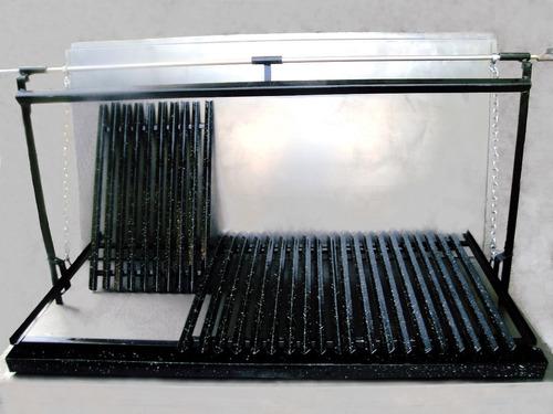 herraje parrilla enlozada de 1.25cm x 60cm m desmontable g