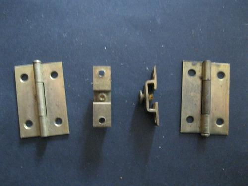 herrajes de bronce y/o hierro muy antiguos-para puertas
