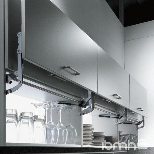 Herrajes para cocina sistema de elevacion para gabinete for Herrajes para cocina