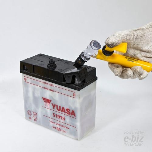 herramienta bike service para cargar acido a bateriasmoto