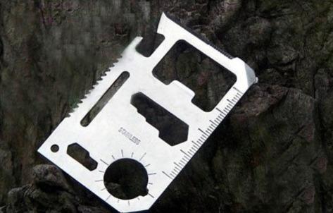 herramienta de supervivencia acero inoxidable, calidad