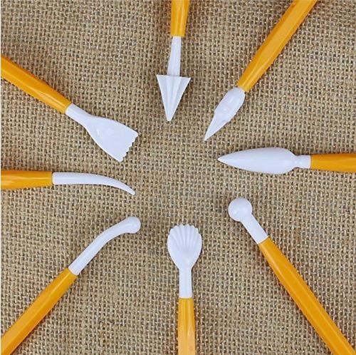 herramienta esculpir modelar fondant arcilla pasta francesa