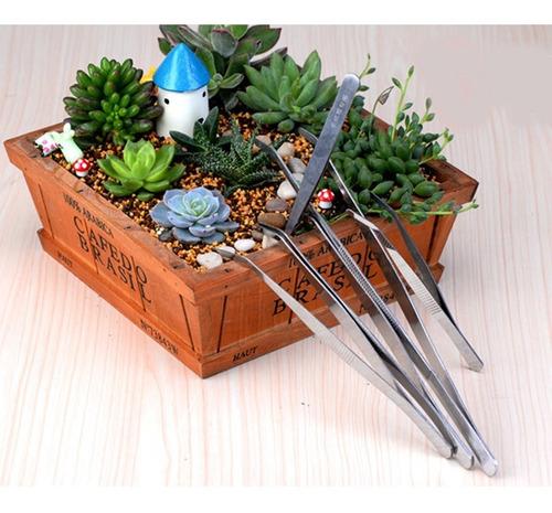 herramienta jardineria planta acero inoxidable limpiador