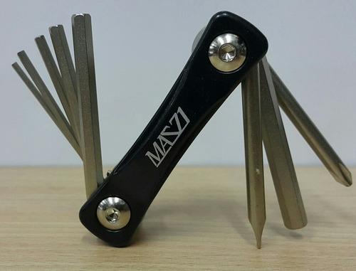 herramienta mazzi multitool 8 funciones - racer bikes
