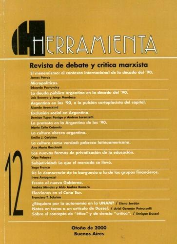 herramienta nº12 - marzo de 2000