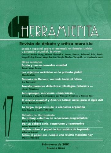 herramienta nº17 - primavera 2001 - especial atentado 9/2001