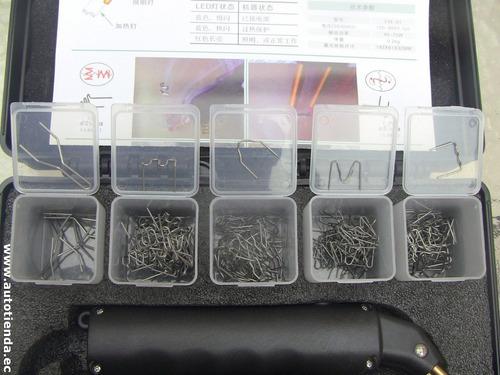 herramienta para reparacion de piezas plasticas rotas