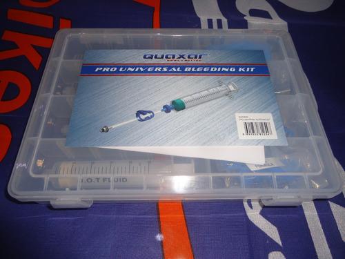 herramienta quaxar kit de purgado frenos disco universal bdk8000 - racer bikes
