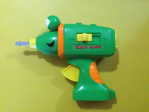 herramienta taladro de handy manny (habla español e inglés)