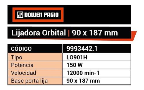 herramientas carpineria lijadora orbital 150 wt dowen pagio